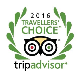 9-ое место в конкурсе 'TRAVELLERS CHOICE-201'6 в номинации '25 отелей по лучшей цене - Россия'